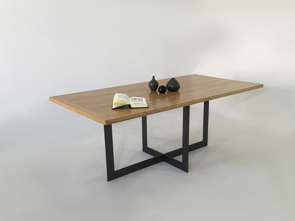 table a manger industrielle chic candel