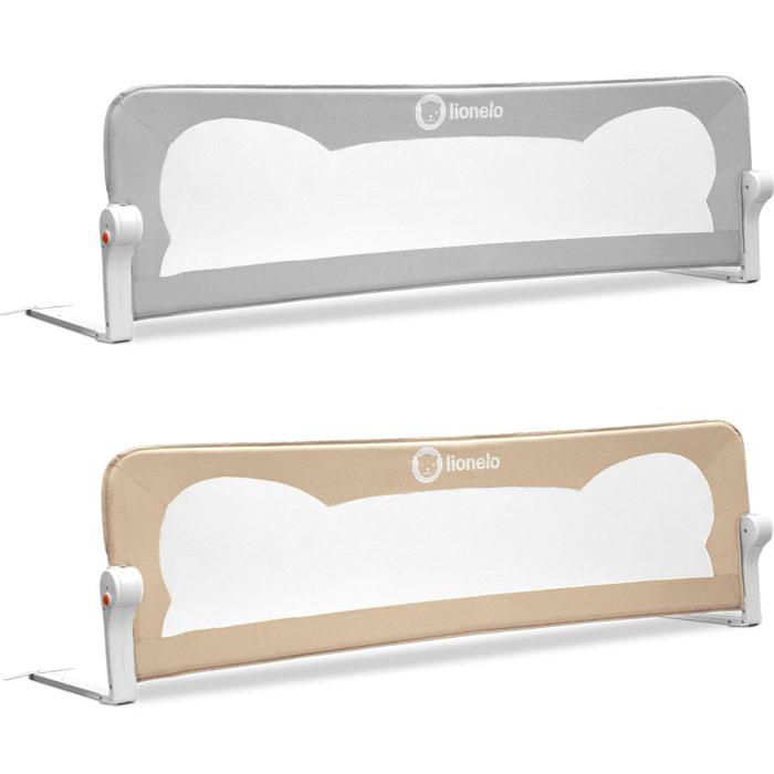 eva barriere de lit protection enfant 150 cm beige