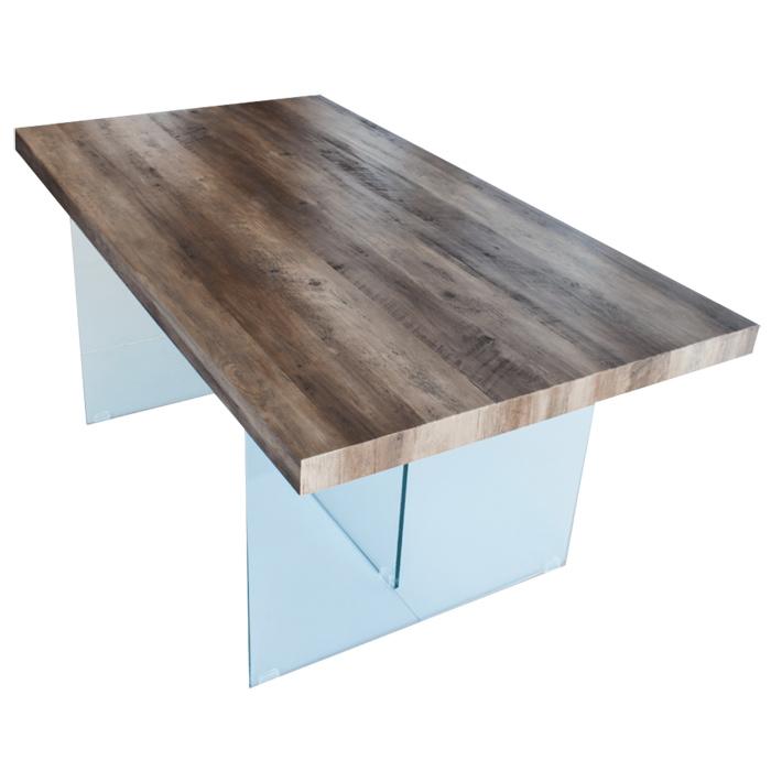 table a manger plateau en mdf bois