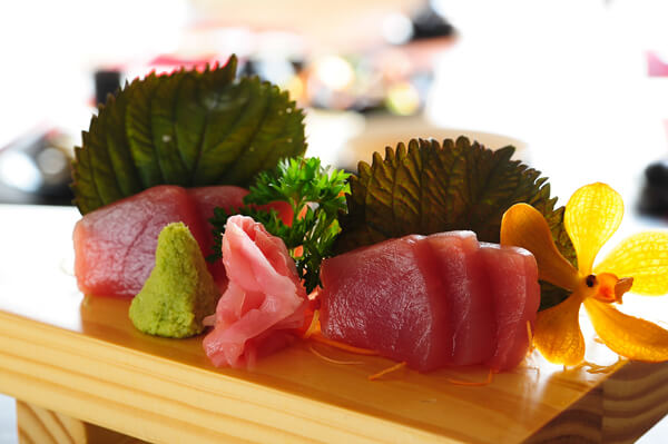 Kết quả hình ảnh cho sashimi cá ngừ