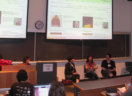 Fibre Arts panel at Northern Voice