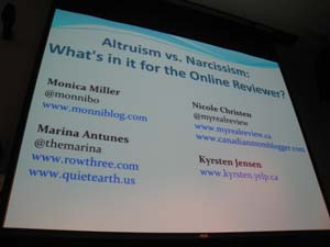 Northern Voice 2011: Online Reviews
