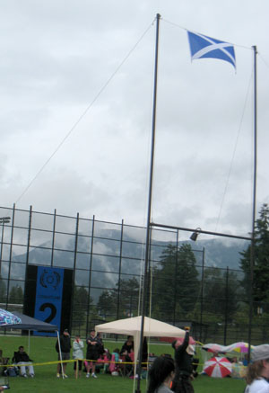 BC Highland Games 2011 - Men's Weight by Height