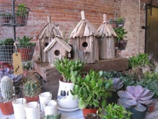 Bird houses at Old Faithful Shop