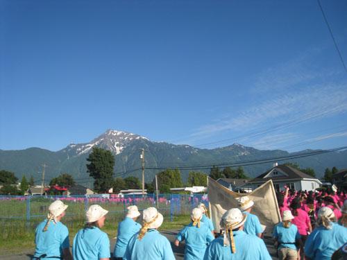 SOAR 2011 - Opening Parade through Agassiz