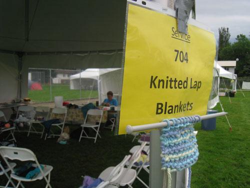 SOAR 2011 - Knitted Lap Blankets