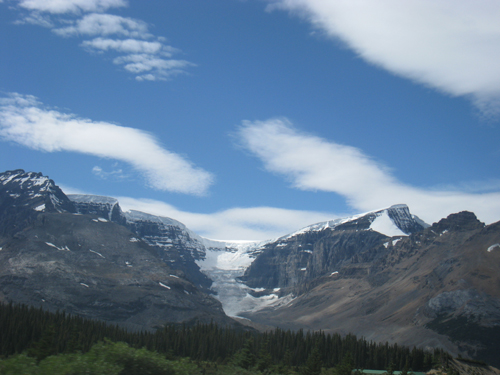Columbia Icefield (one of the eight glaciers)