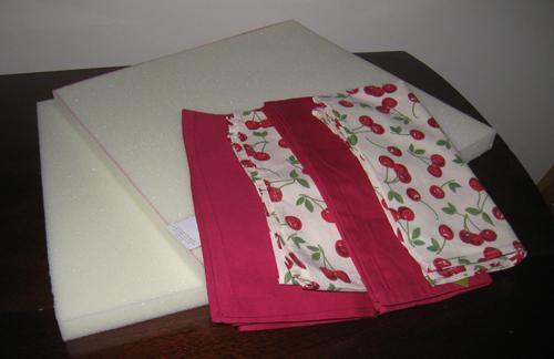 Fabric and foam