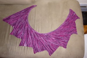 Wingspan, knit by Barth, out of Indigo Moon yarn