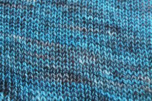 Travelling Woman shawlette - yarn detail