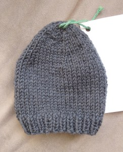 Knitted Toe Cosy for Casts