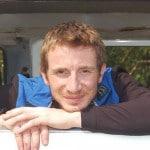Simon courrier, chef d'atelier et guide