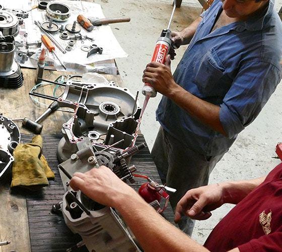 remontage moteur royal enfield