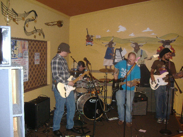 Longtime local band Pirate Radio got their set in. Unfortunately, most of my pictures of them didn't come out so hot.