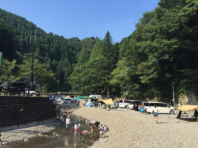 光滝寺キャンプ場2