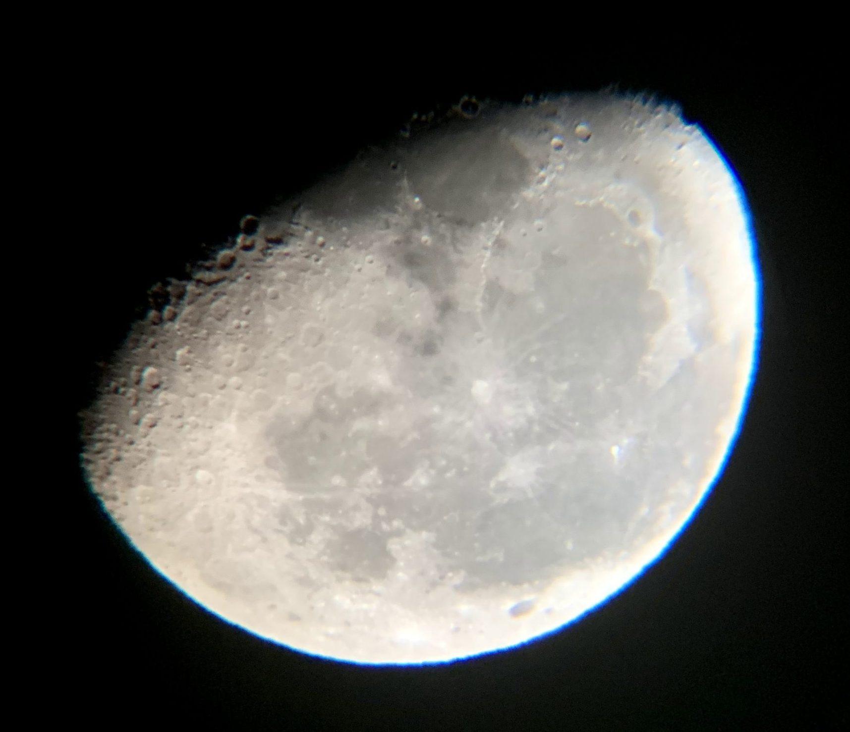 大塔コスミックパーク星のくに【奈良県】/自宅で月を撮ってみた
