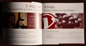 brochure vinéo conseils Avril 2011