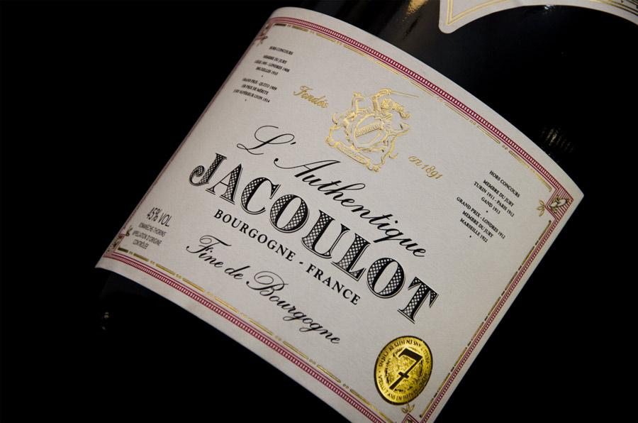 agence packaging Bourgogne spiritueux