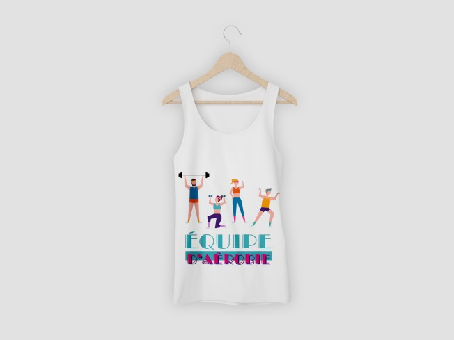 Montreal Volleyball Tank Top