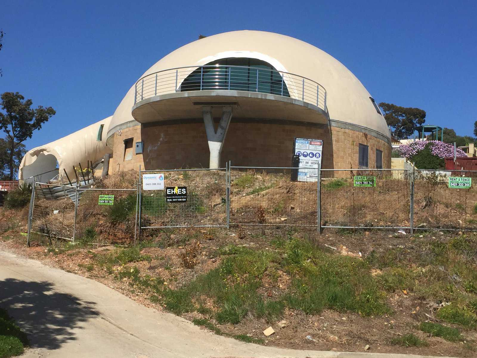 Australian Adventure Nears Completion Monolithic Dome