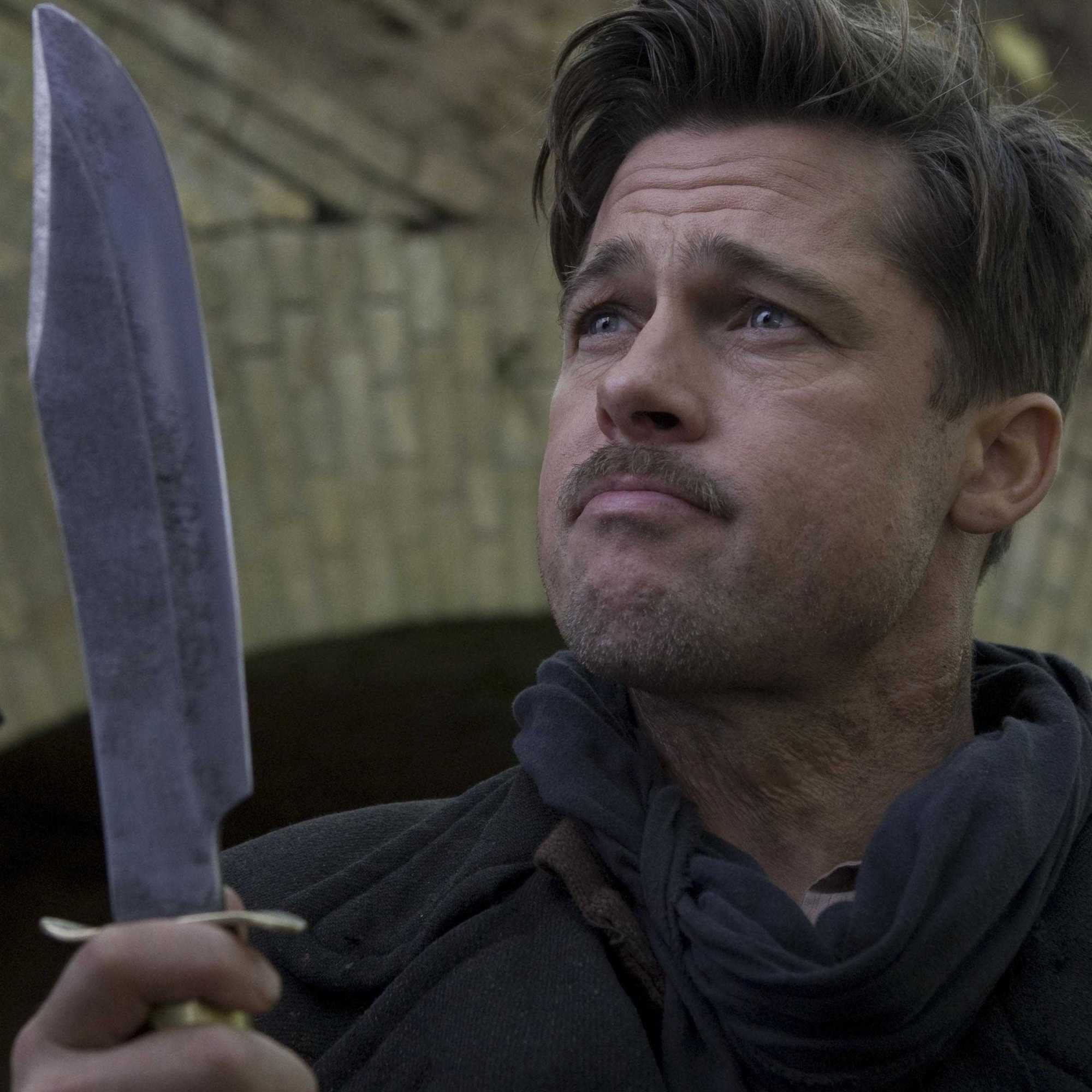 Image result for Brad Pitt inglorious