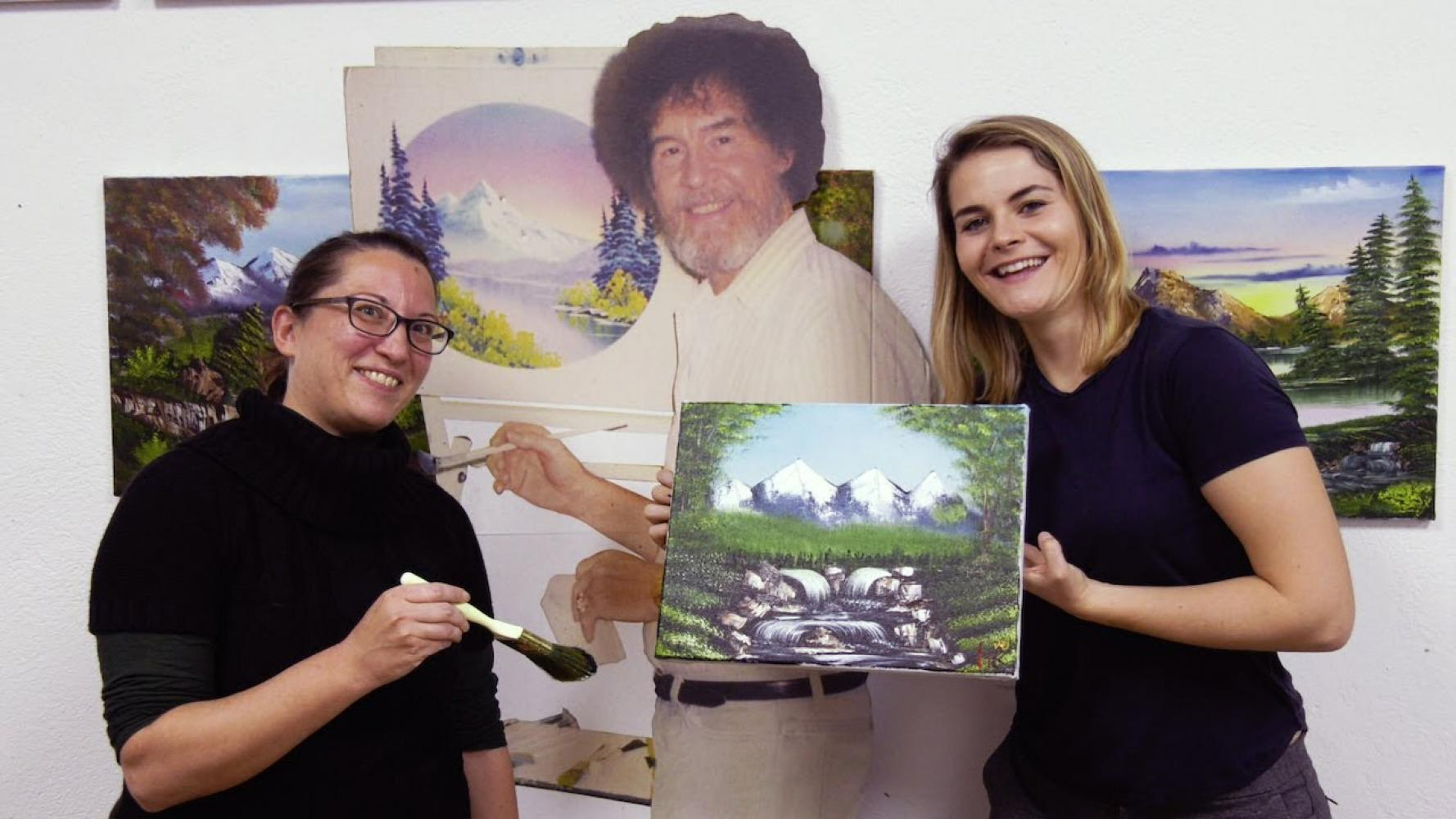 Bob Ross The Joy Of Painting Waterfall Wonder