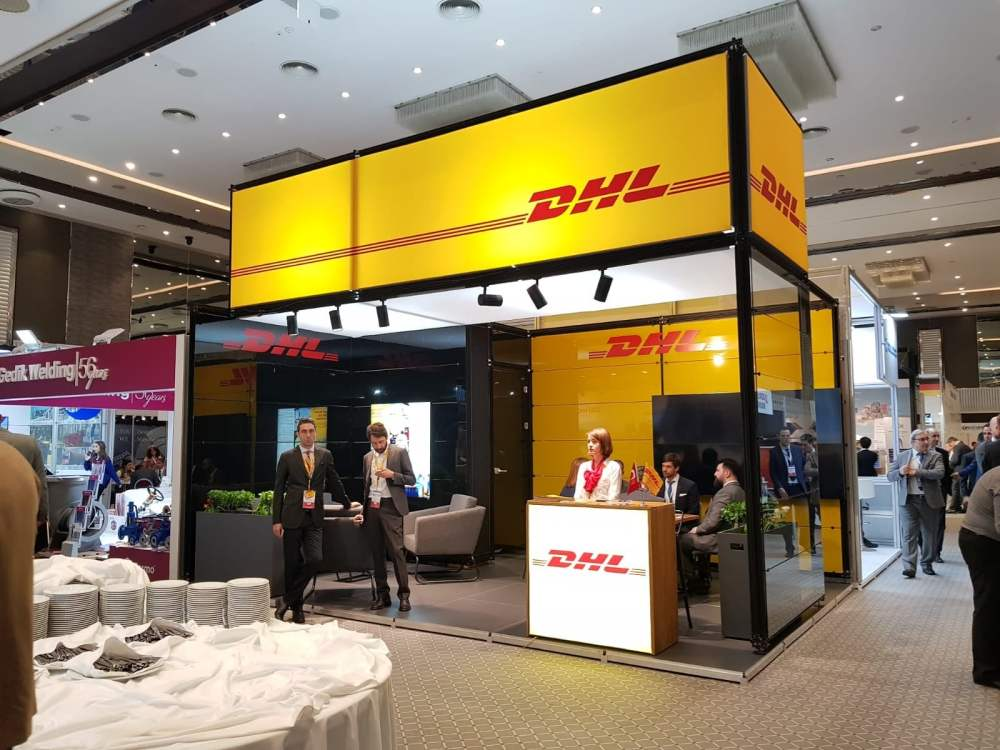 dhl stand