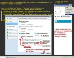 parametrer skype