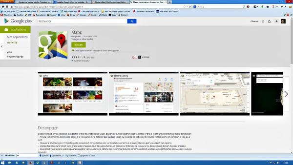 Google maps pour mobiles