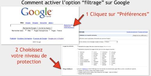Safe Search Google