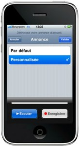 annonce accueil iphone5