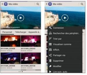 Trouver ses vidéos et les visualiser