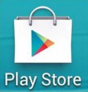 L'icône de Google Play Store.