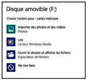 Indiquez à Windows 8.1 ce qu'il doit faire