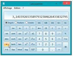 La calculatrice scientifique