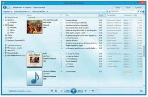 Le Lecteur Windows Media extrait les morceaux du CD audio