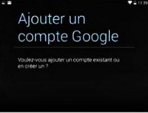 Ajouter un second compte Google