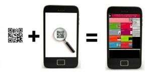 Obtenir des informations en visant un flashcode ou un code barre