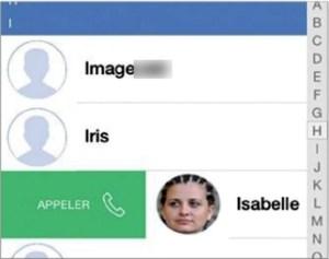 Appeler ou envoyer un message à un ami avec L'appli Connect d'iOS