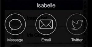 Modifier une liste et envoyer un message groupé avec Connect d'Apple
