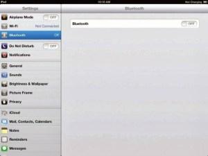 Activer le Bluetooth sur iphone 6