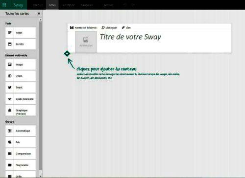 Interface de Sway