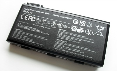 Li-ion-batterie pour portables
