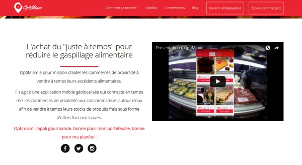Le site OptiMiam