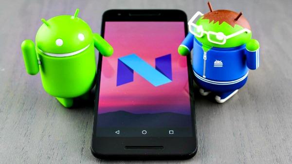 Mise à jour Android 7 Nougat