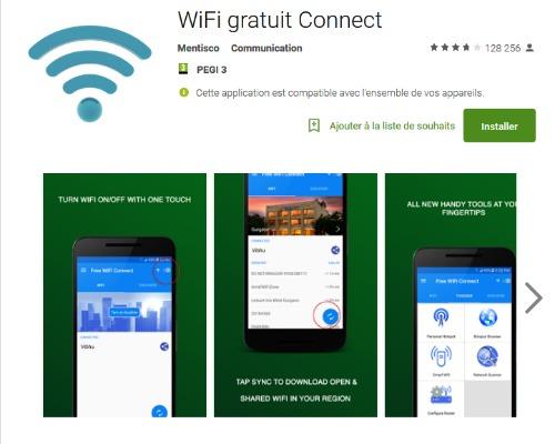 Wifi Gratuit Connect