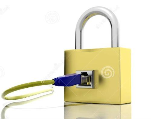 icone-de-cadenas-avec-l-acces-d-internet