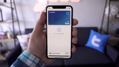 paiement avec iphone x