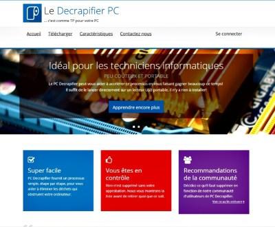 Image du logiciel Pc Decrapifier