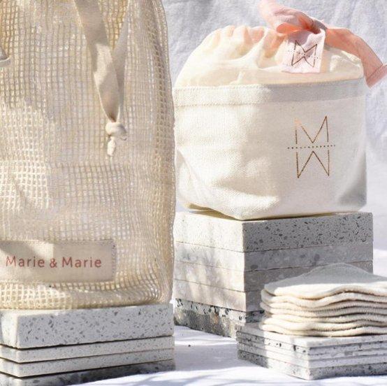 Idées cadeaux moins de 30€ - Cotons démaquillants - Mon peau de crème - Émonoé - Blogueuse Lyonnaise - Ateliers beauté et maquillage- Lyon